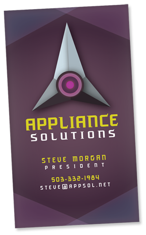 Appliance Solutions Business Card