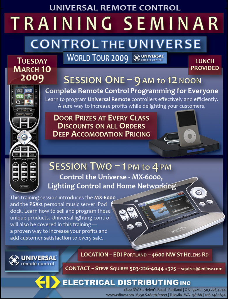 Universal Remote Flyer