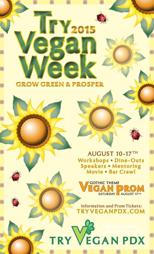 Vegan Week Poster